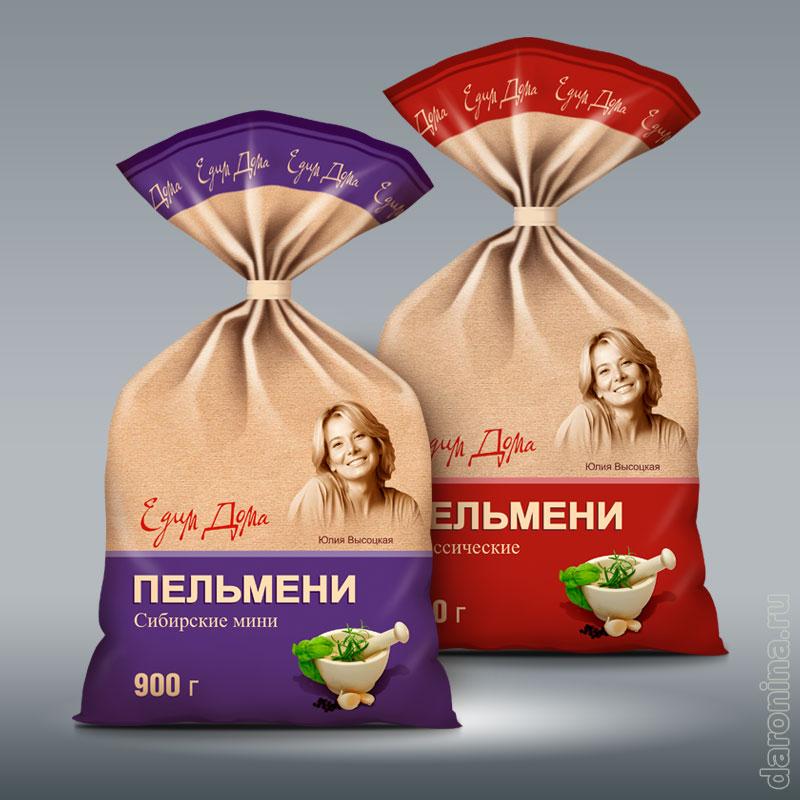 Разработка упаковки Едим дома