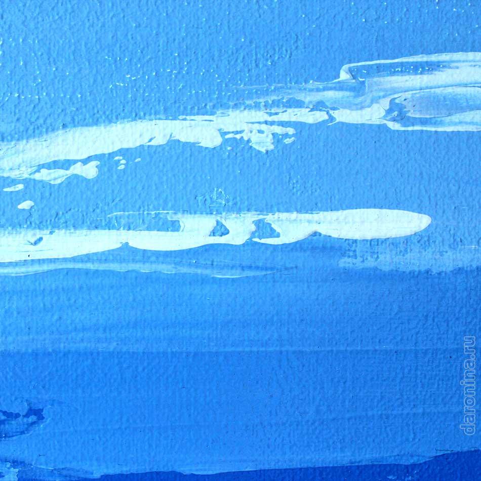 Картина «Уютная гавань» (фрагмент)