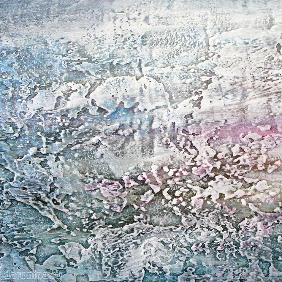 Картина «Зимнее утро» (фрагмент)