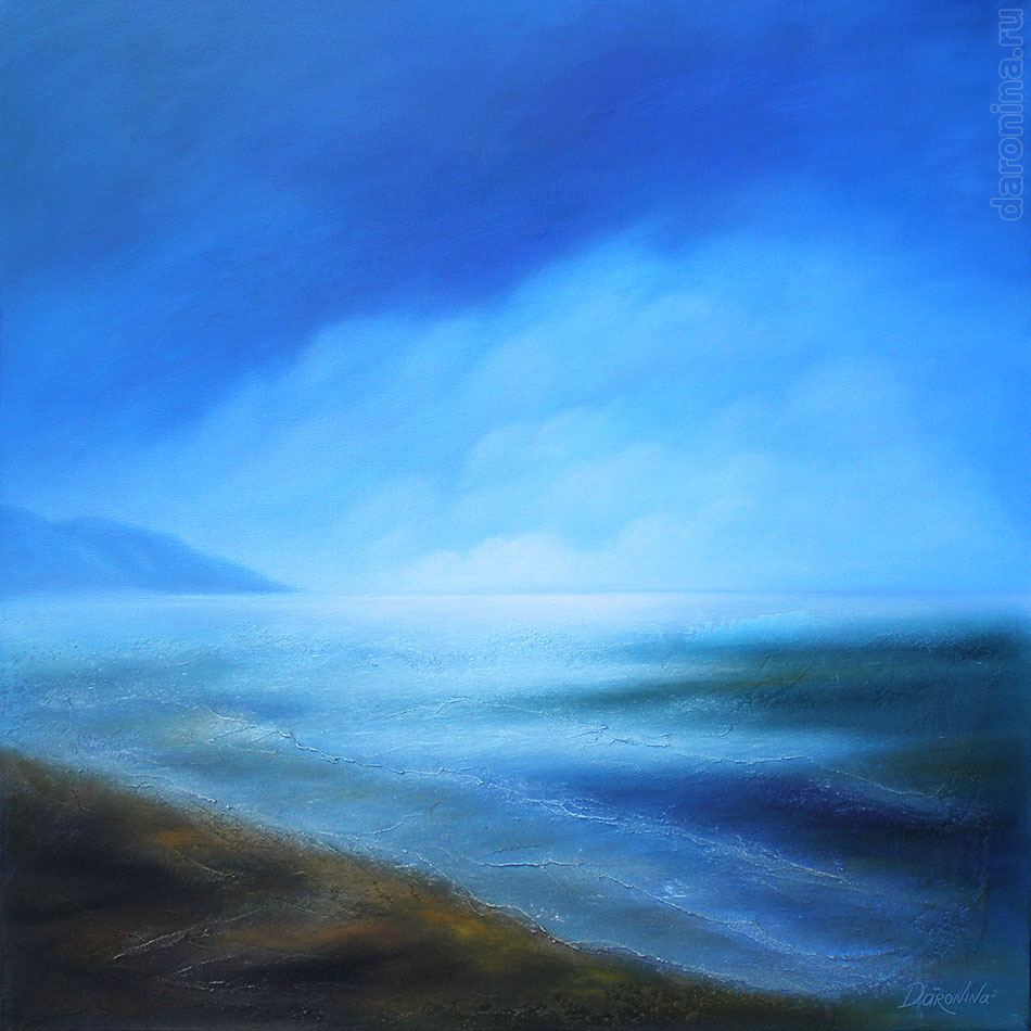Картина маслом «Дыхание Байкала»