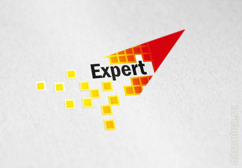 Разработка логотипа Эксперт