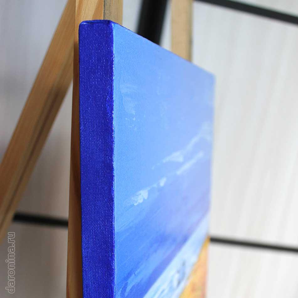 Картина «Уютная гавань» (торец)