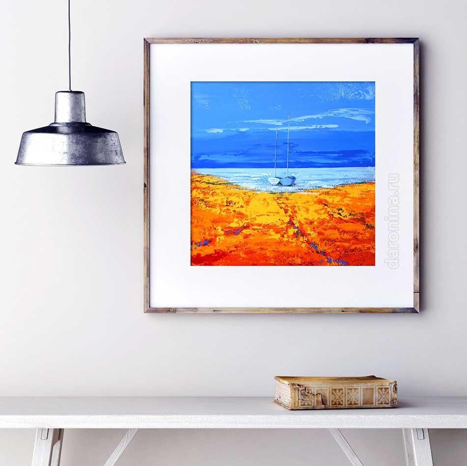 Картина «Уютная гавань»