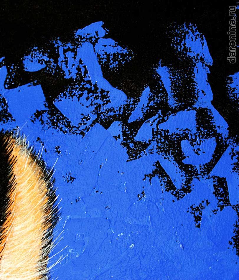 Картина «Защитник» (фрагмент)