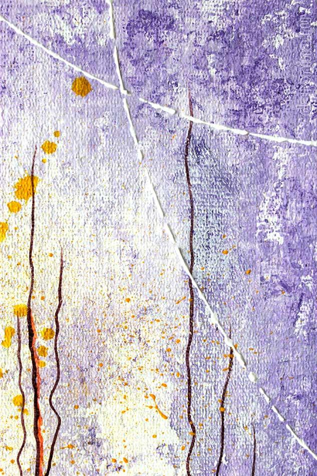 Картина «Красные маки на сиреневом фоне» (фрагмент)