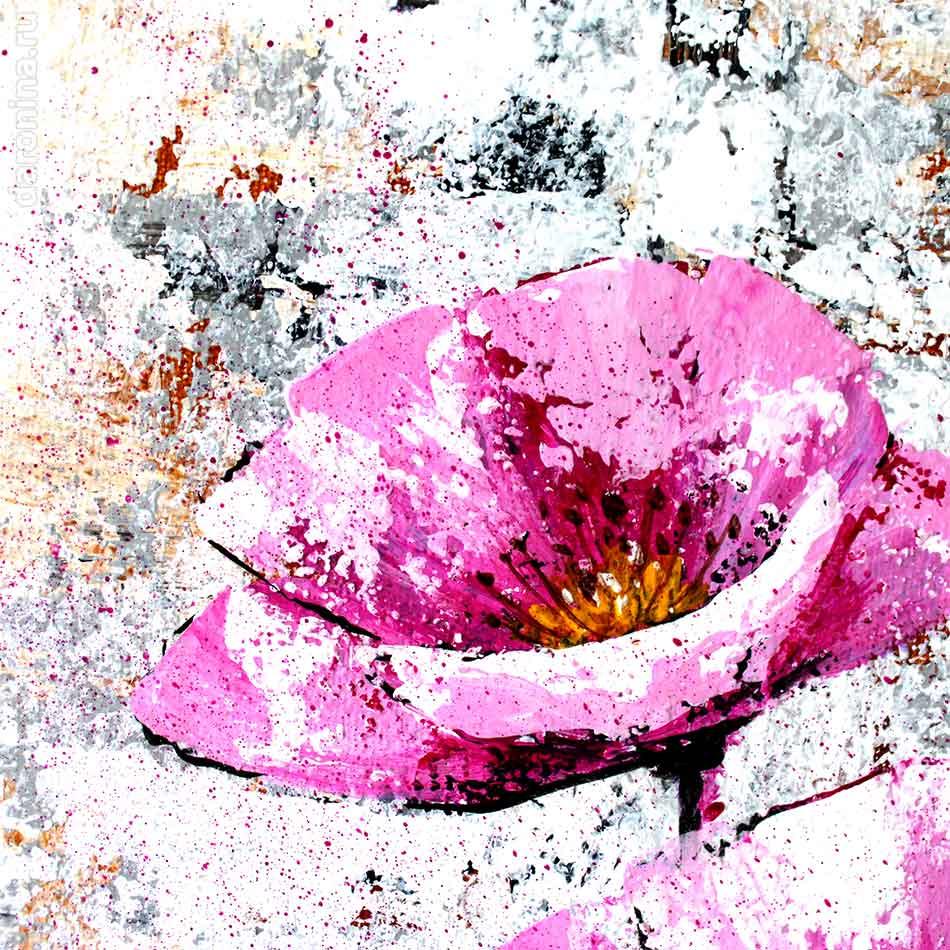 Картина «Аленький цветочек» (фрагмент)