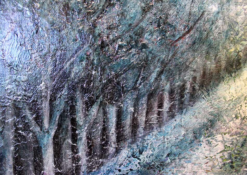 Картина «Путь к свету» (фрагмент)
