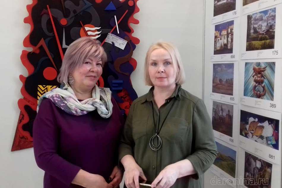 Ирина Даронина и Роза Рэд