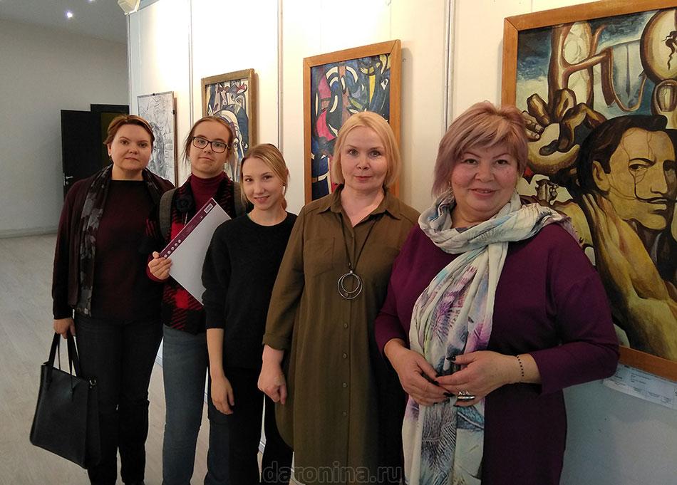 После мастер-класса Прус Виктора Николаевича