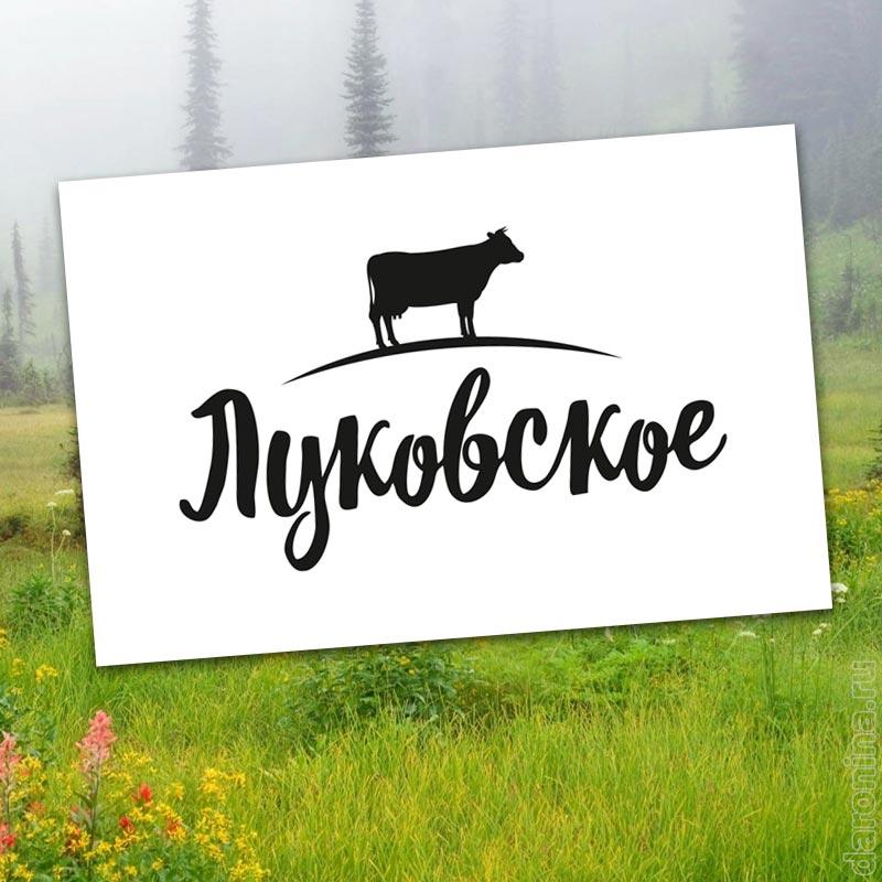 """Разработка логотипа """"Луковское"""""""
